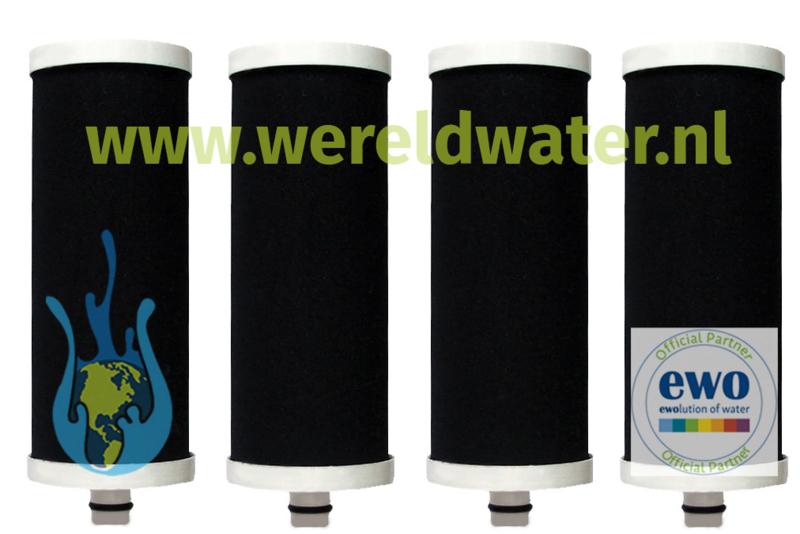 Voordeelpakket: 4 EWO Vitality Filter Cartridges