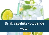Artikel Drink dagelijks voldoende water - drink vitaal water