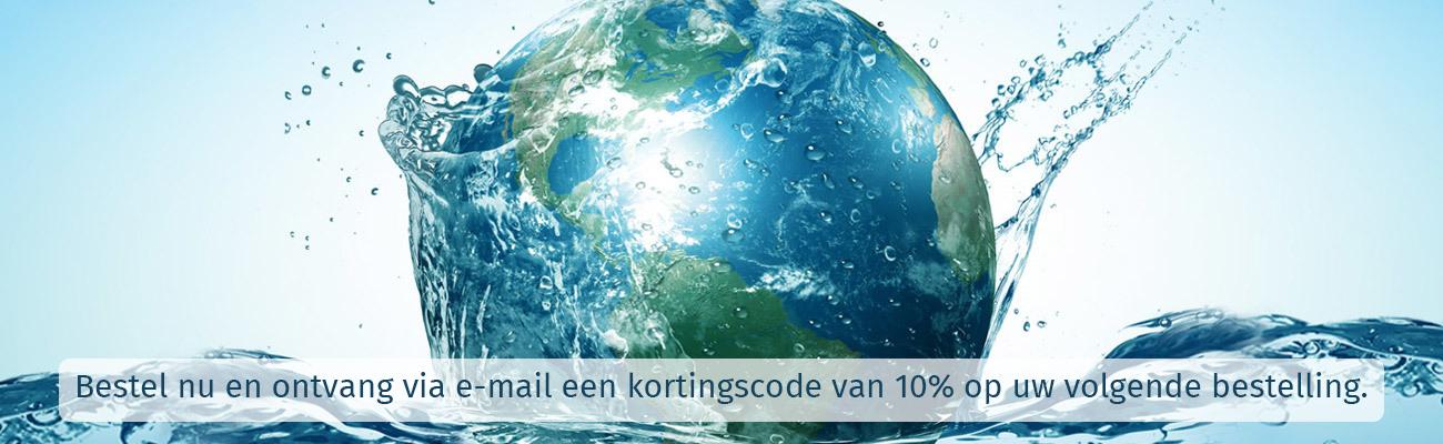 WereldWater waterfilters en vitalisatoren - filter en onthard het water in uw woning