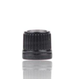 montuur zwart DIN 18 verzegelbaar - zonder druppelteller