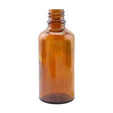 Fles bruin glas 100 ml
