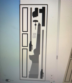 Blaser R8 interieur voor 4215