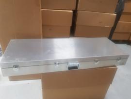King & More Aluminium Instrumentenkoffer (grote Basgitaar) - besteld: niet afgenomen