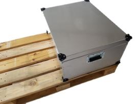 Aluminium Kist UC006 - 80x60x41 cm voorzien van wielen special