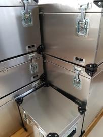 Aluminium Kist UC008 - 120x60x61 cm pallet grootte