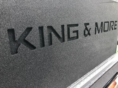 King & More geweerkoffer maatwerk interieur