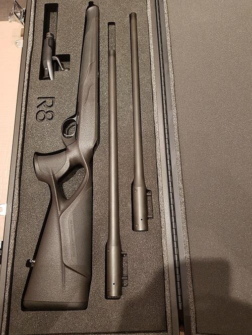 King & More aluminium geweerkoffer Blaser R8
