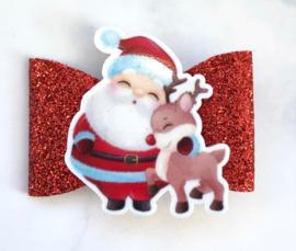 Strik kerstman klein
