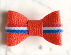 Oranje met vlag