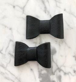 Vintage zwart set van 2