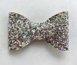 Zilver discoglitter