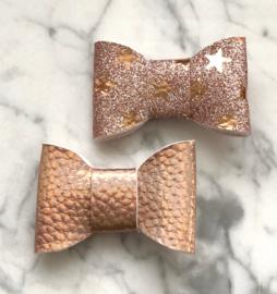 Copper blush pearl stars
