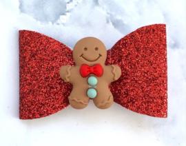 Gingerbreadman rood klein