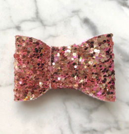 Taupe roze extra glam