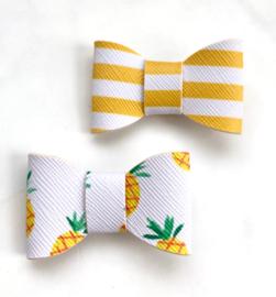 Pineapple stripes set van 2