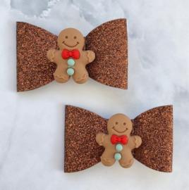 Gingerbreadman klein set van 2