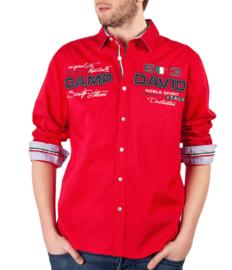 """Camp David ® shirt """"Italiaans kampioenschap"""", rood"""