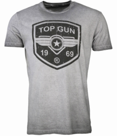 "Top Gun® ""Power Shield"" mannen T-shirt, grijs"