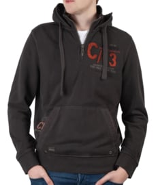 "Camp David sweatshirt met capuchon uit de ""Ice Road Truckers"" collectie"