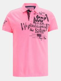 """Camp David ® poloshirt """"Sea Captain"""" Pink"""