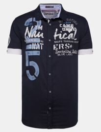 "Camp David shirt donkerblauw uit de ""Sea Captain"" collectie"