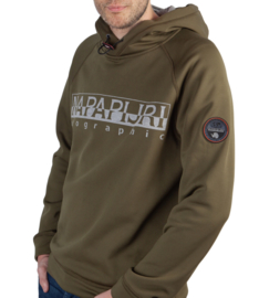 Napapijri ® Hoody Microfleece Sweatshirt, groen