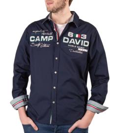 """Camp David ® shirt """"Italiaans kampioenschap"""", donkerblauw"""