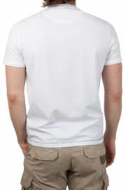 La Martina ® mannen T-Shirt wit, Polo Supplier