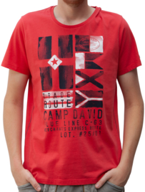 Camp David ® mannen T-shirt met r-hals