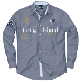 Cottonhill ® Overhemd Long Island