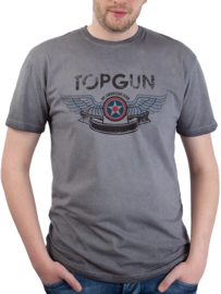 "Top Gun ® ""Wings Logo"" mannen T-shirt"