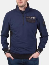 """Gaastra ® Heren Sweatshirt """"REG.T.M. -97"""" Donkerblauw"""
