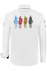 John Brilliant ® Overhemd Polosport London, wit