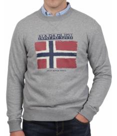 Napapijri ® Sweatshirt Flag, grijs