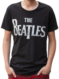 Beatles mannen T-shirt, zwart