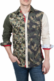 Lucky de Luca ® Shirt Camouflage Desert