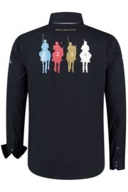 John Brilliant ® Overhemd Polosport Sydney, donkerblauw