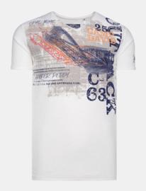 "Camp David ® T-Shirt ""Outback Desert Mine"" Ivoor"
