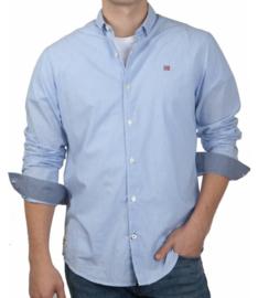 Napapijri ® Overhemd met lange mouwen, blauw streep