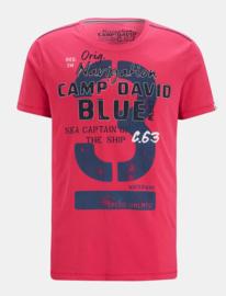 """Camp David ® T-shirt """"Sea Captain"""", pink"""