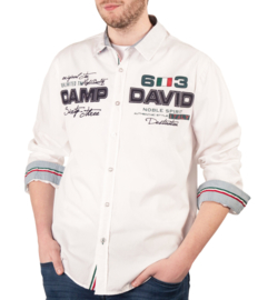 "Camp David ® shirt ""Italiaans kampioenschap"", wit"