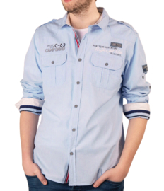 "Camp David ® Shirt ""Maritime Adventure"", blauw"