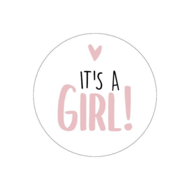 """Stickers """"It's A Girl"""""""