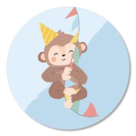 Sticker Party Monkey