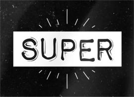 """kaart """"Super"""""""