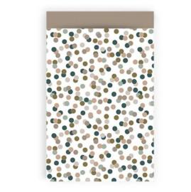 Cadeauzakje Confetti per 5   (7x13cm)