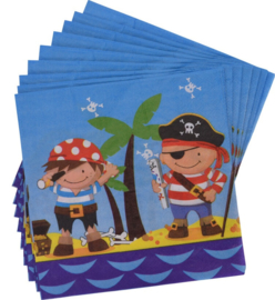 servetten Piraat 16 stuks
