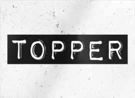 """kaart """"Topper"""""""