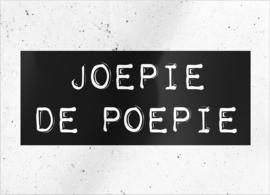 """kaart """"Joepie de Poepie"""""""