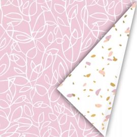 Cadeaupapier Dots Pink